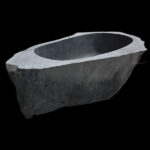 Rock stone bathtub