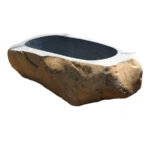 Natural River Stone Bathtubs for sale