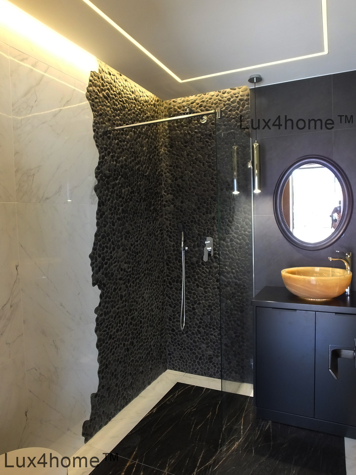 Grey Tile Shower Ideas