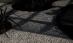 Black Pebble Tiles outdoor ideas