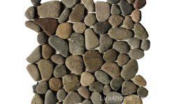 Brown Pebble Tiles - Pebble Mosaic