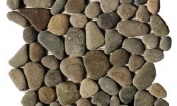 Brown Pebble Tile