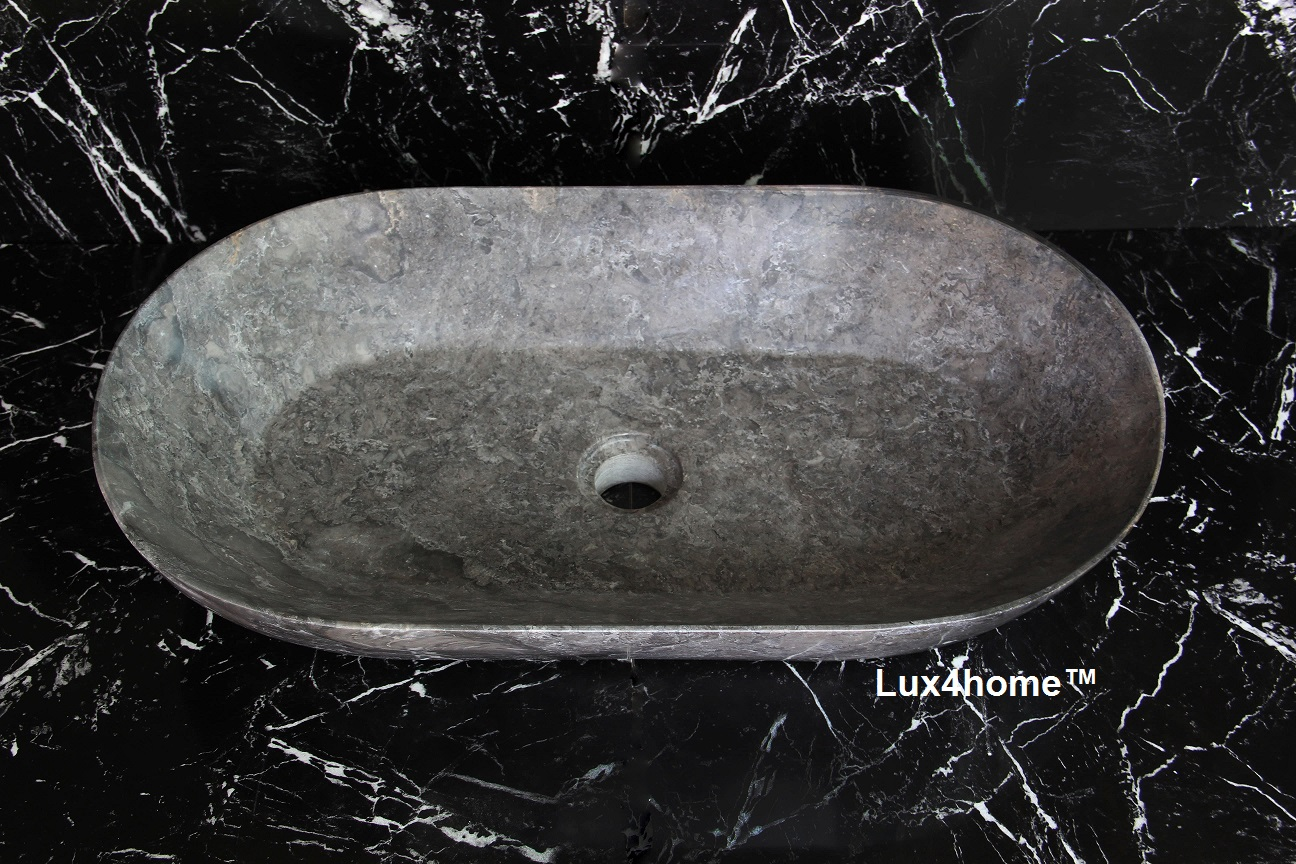 Oval Countertop Stone Sink