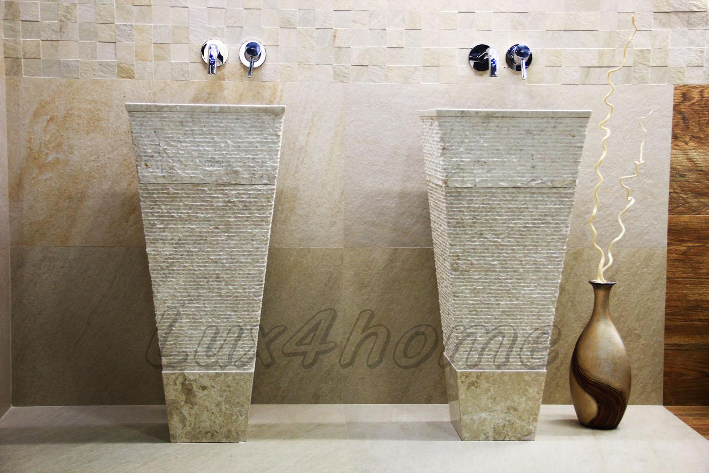 Pedestal Sinks Crl 142 Hand Made Pedestal Stone Sinks
