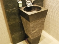 Black Stone Sink - Standing Stone Sinks