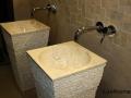Pedestal Marble washbasins - pedestal marble sink
