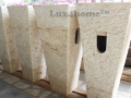 Standing Stone Sinks producer - Pedestal Stone Wash Basin