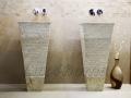 marble sink pedestal