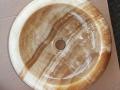 Onyx wash basin - Round Onyx Stone Sinks