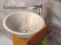 Stone sink for bathrooms 1