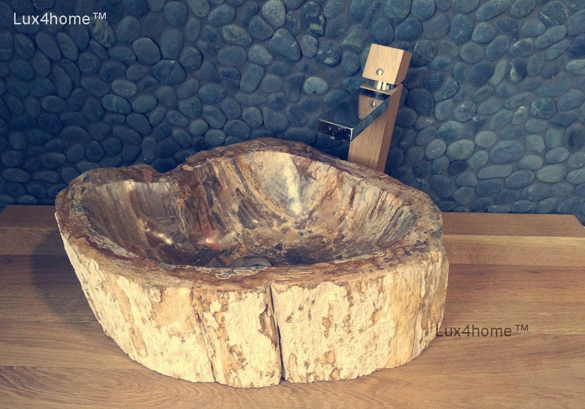 Petrified Wood Stone Sinks Fossil Wash Basins Lux4home Com