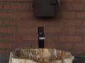 Fossil wood wash basin - Fossil wood sinks