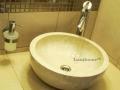Cream marble sink - marble wash basins