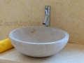 Cream marble sink - marble wash basins