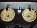 bathroom onyx sinks