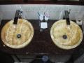 bathroom onyx sinks