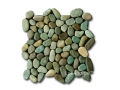 Green Pebble Tiles - Pebble Mosaic