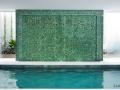 Green Pebble Wall - Pebble Tile walls