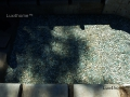 Green pebble tile outdoor - Mosaics pebble tiles green