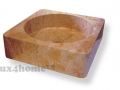 yellow stone washbasins