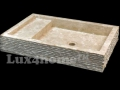 Stone vessel sink Lux4home