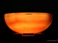 Illuminated sinks - illuminated onyx washbasin