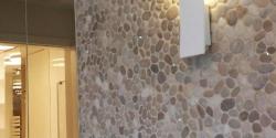 Pebble Tile Wall (2)