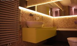 Beige pebble tiles supplier - Pebble Stone Wall
