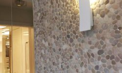 Pebble Tile Wall (2)