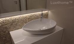 Bathroom Pebble Tiles - Pebble mosaic Tile