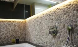 Best Pebble Tile Seller - Beige Pebble Bathroom