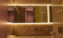 beige pebbles - Bathroom Wall Pebble Tiles