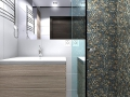 Color Pebble Tile shower ideas