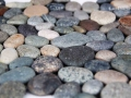 mixed pebble tile Dark Ocean