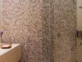 Color Pebble Tile Wall - Pebbles on wall