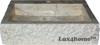 crem marble vessel sink