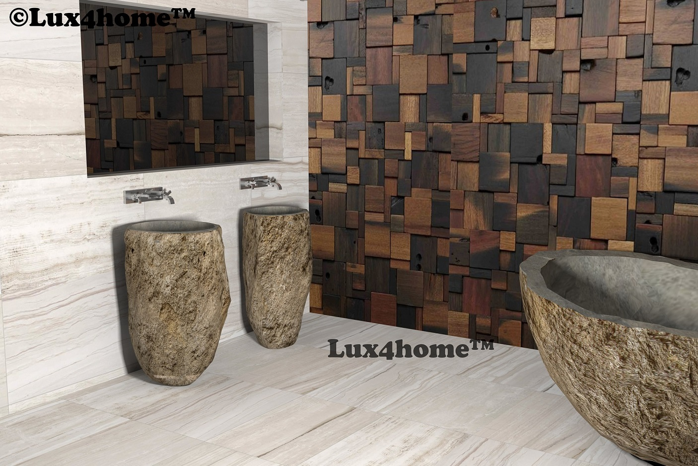 Stone Bathtub Manufacturers Mail: River Stone Bathtub Manufacturer. Lux4home™ Lux4home.com