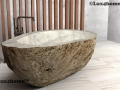 River Stone bathtubs - stone bathroom
