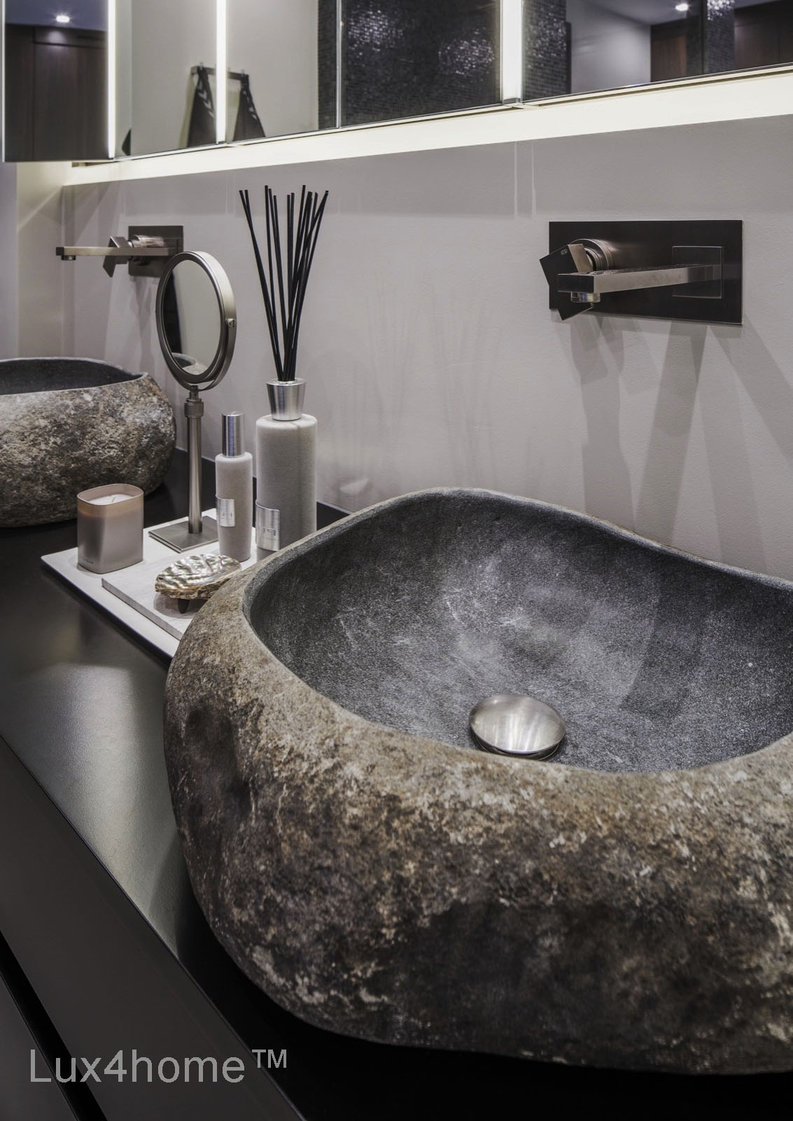 Lavabo Batu Kali Natural River Stone Sinks Welcome To