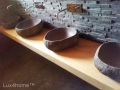 Natural stone sink vessel - stone wash basins