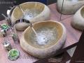 natural stone wash basin vessel - stone sinks