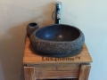 natural stone vessel sinks - stone washbasins