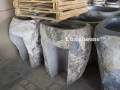 pedestal sinks river stone collection