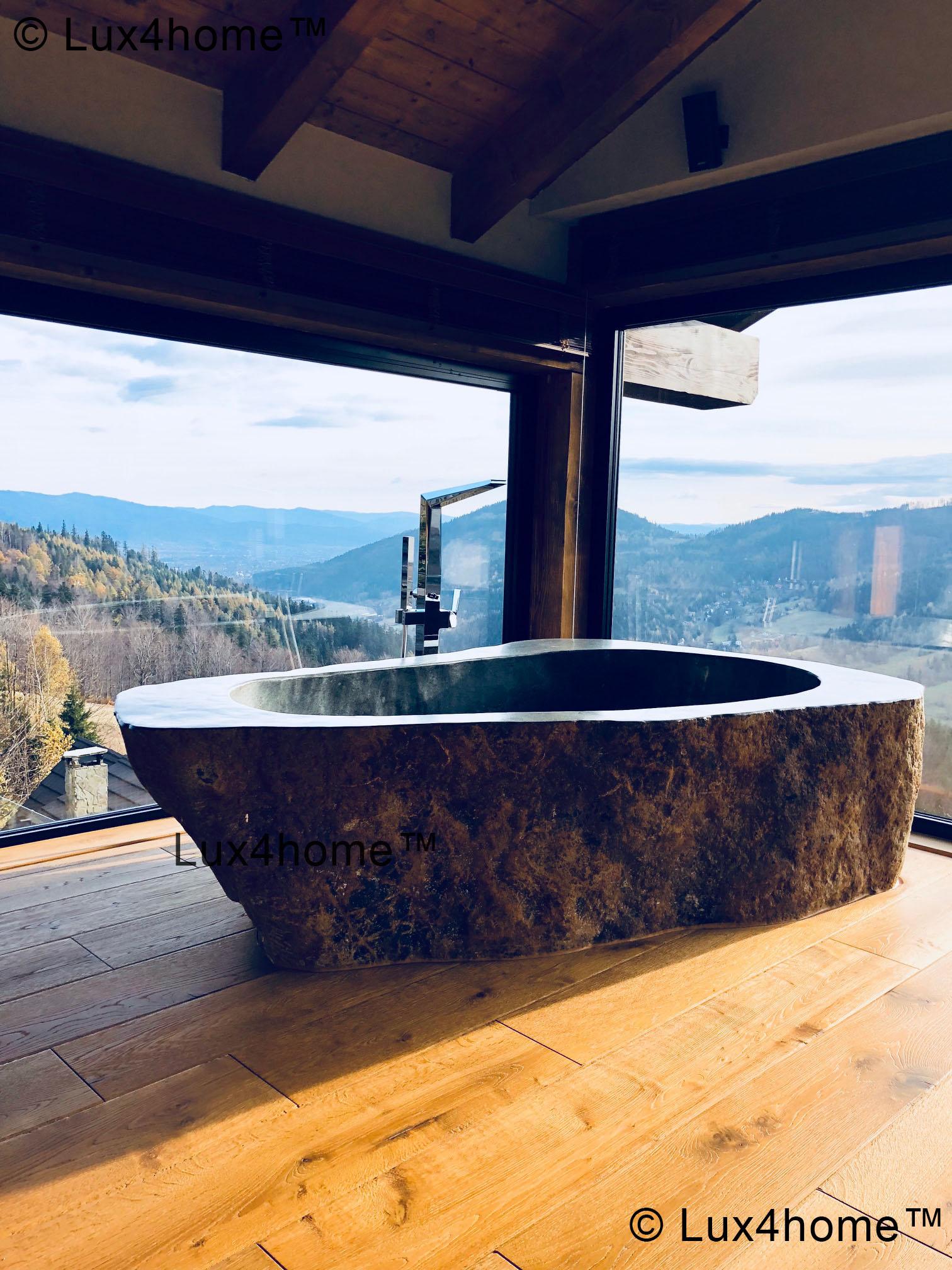 River Stone Bathtub - Natural stone bathtubs