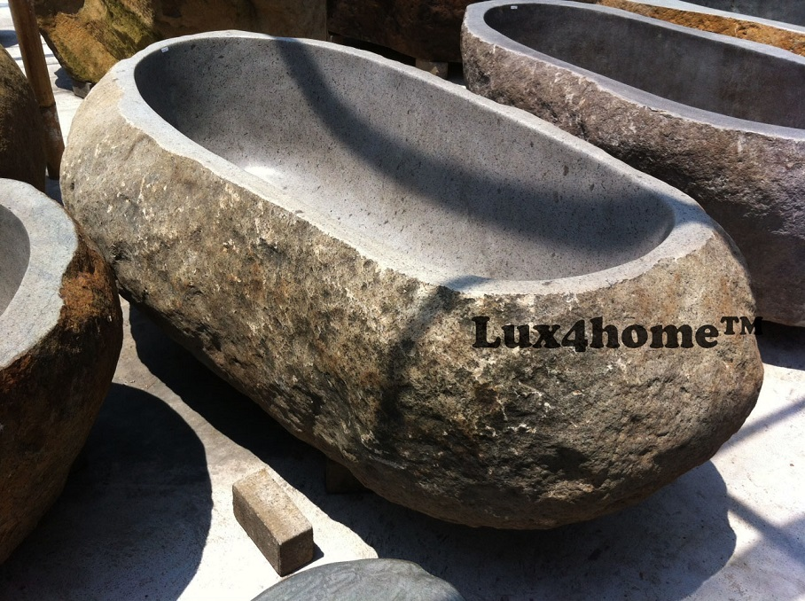 River Stone bathtub - Rock bathtubs exporter & manufacturer
