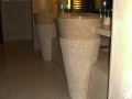 Free standing marble sink - Standing Stone Sinks