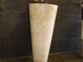 free standing marble basin - Pedesta Stone Basins Sinks