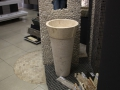 stone pedestal wash basin - Marble Pedestal Wash Basins