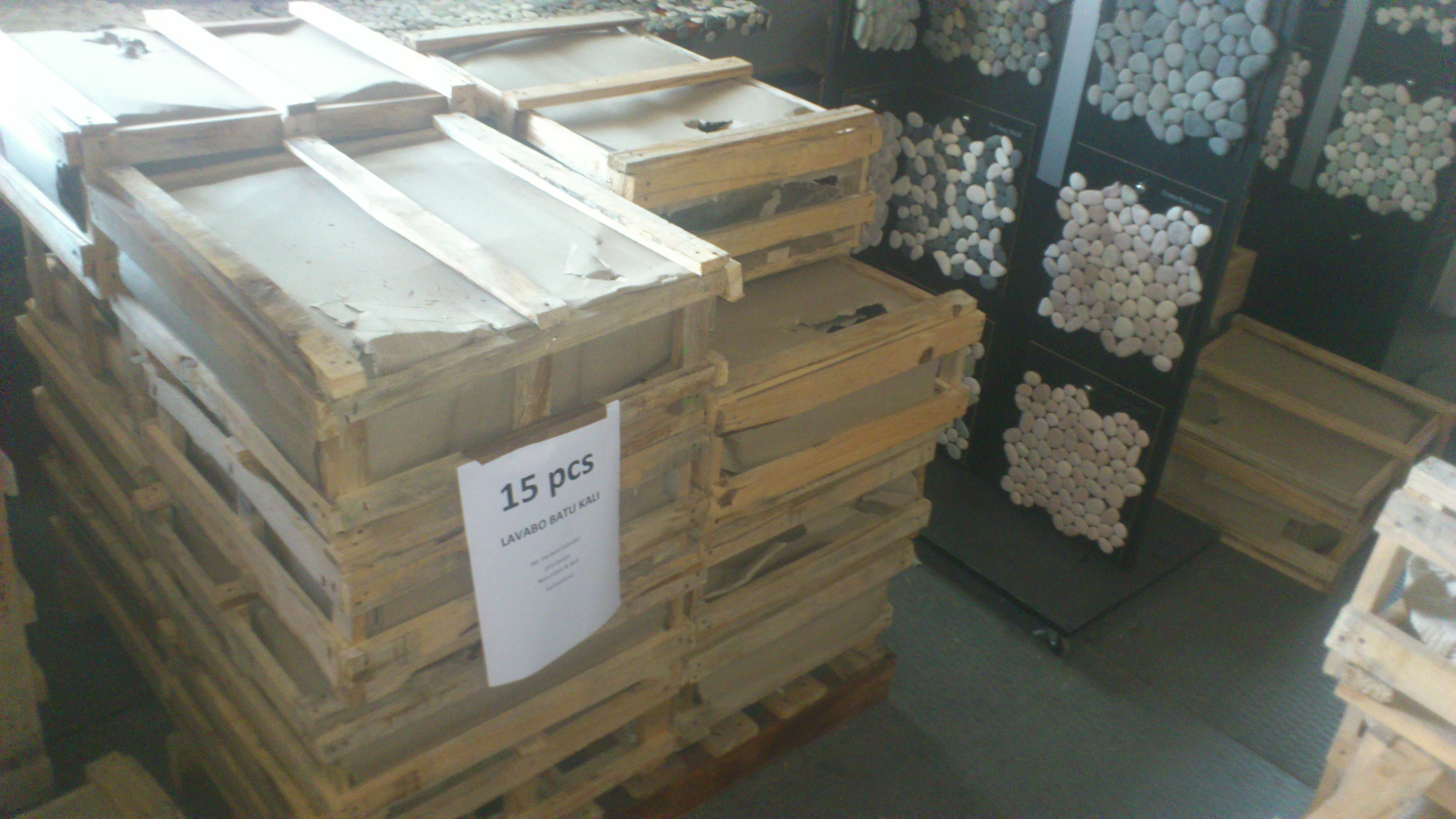 stone sinks manufacturer export packaging