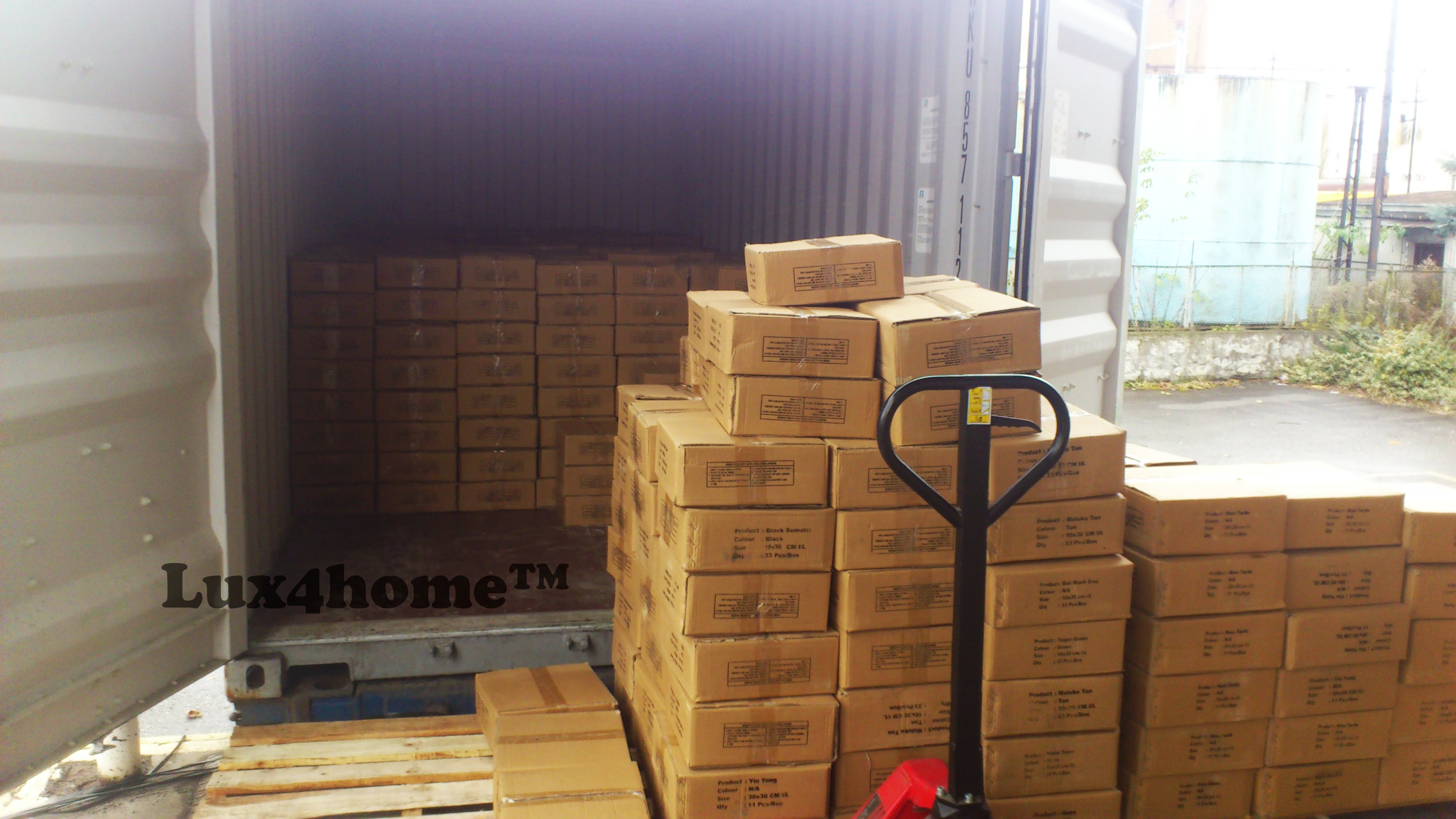 pebble tiles manufacturer - export packaging